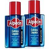 Alpecin Cafeina Liquida 2x 200 ml | Locion anticaida cabello hombre | Tratamiento para caida de pelo hombre | Tratamientos co