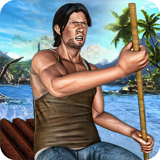 Raft Survival Hardtime Island Escape Life Simulator 3D: Hero Fighting Evolution Adventure Craft Games Free For kids