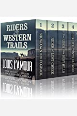RIDERS OF THE WESTERN TRAILS: : The Second Louis L'Amour 4 Book Western Bundle - Showdown On The Hogback, Rider Of Lost Creek, The Rider Of The Ruby Hills, Ride, You Tonto Raiders! Kindle Edition