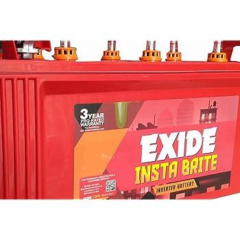 Exide 150Ah New Instabrite Inveter Ups Battery - 36 Month Warranty