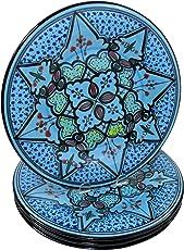 Le Souk Ceramique TK20CT Cookable Tagine 12 Inch, Tabarka