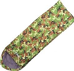 Turnermax Outdoor-Multifunktions-Schlafsack für eine Person, Erwachsene oder Kinder, für Outdoor-Aktivitäten, Wandern, Camping, mit Hülle, wasserdicht mit komprimierter Reißverschluss-Tasche