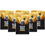nu3 Beef Jerky Honey - Protein Carne di Manzo Secca Proteica 6 x 50G - Manzo Essiccato 58% Proteine a Basso Contenuto di Carb