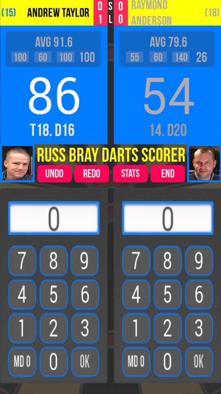 russ bray darts scorer apps f r android. Black Bedroom Furniture Sets. Home Design Ideas