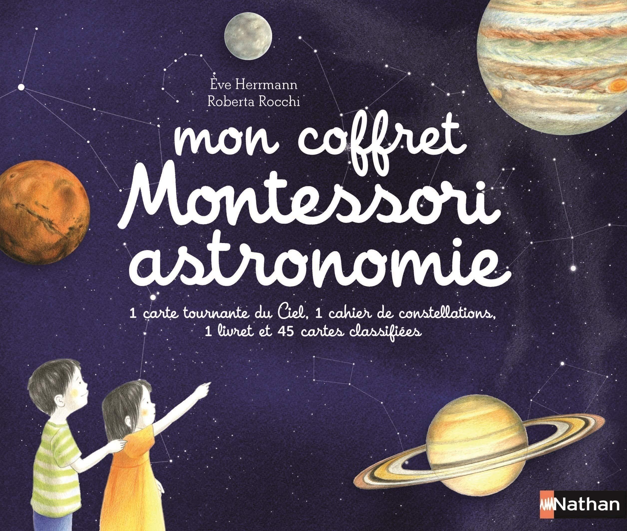 Mon coffret Montessori astronomie - Dès 5 ans por Eve Herrmann