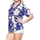 LA LEELA Ladies Printed Beach Wraps and Cover ups Women's Bohemia Beach Dress Short Sleeves Boho Lace Swimwear for Holiday Be