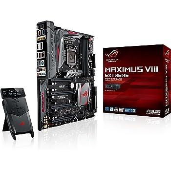Asus ROG Maximus VIII Extreme Gaming Mainboard (Sockel 1151, ATX, Intel Z170, 4x DDR4-Speicher, USB 3.1, M.2 Schnittstelle)