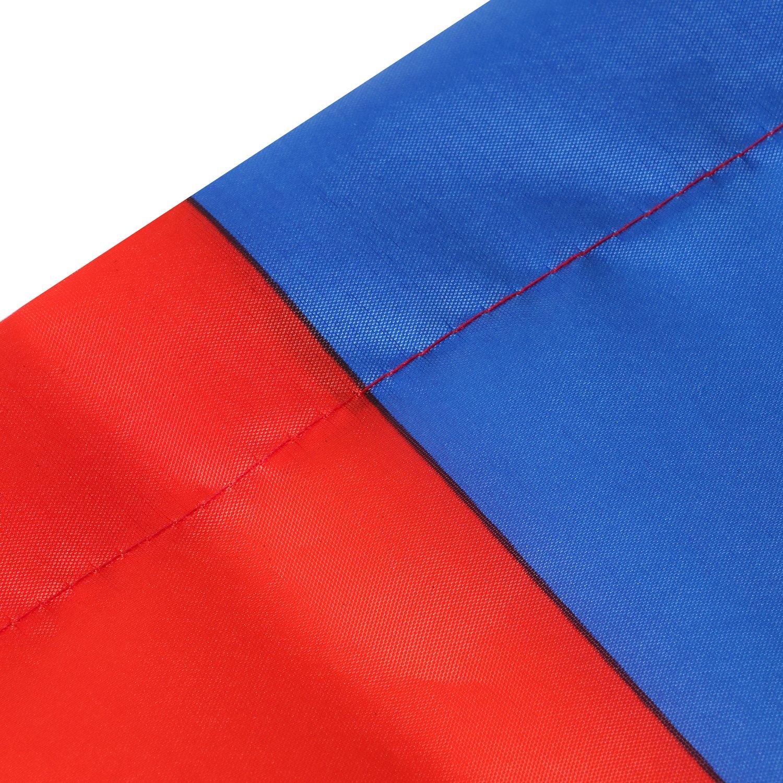 TRIXES Große russische Nationalflagge mit Ringösen zum Aufhängen 90x150cm für Sportveranstaltungen und Nationale…