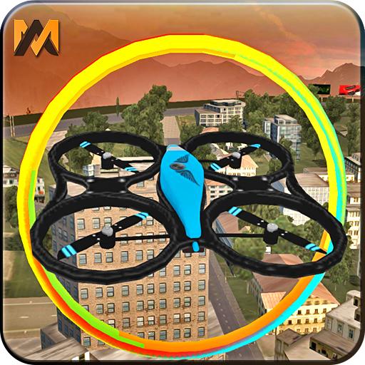 Drone City Air Flight 3D