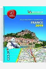 France 2019 -Tourist & Motoring Atlas A4 Laminated Spiral: Tourist & Motoring Atlas A4 spiral (Michelin Road Atlases) Spiral-bound