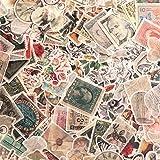 320 Pieces Vintage Scrapbook Sticker Adhesive Journaling Natural Flower Plant Mushroom Sticker DIY Retro Postage Stamp Collec