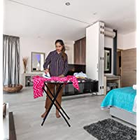 """Parasnath Heavy Folding Large Ironing Board Table 18"""" X 48"""" (Colour May Vary, Multi-Color) Lifetime Warranty Made in…"""