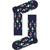 Happy Socks Flamingo Sock Calcetines, Navy, 4-11 (Size:41-46) para Hombre