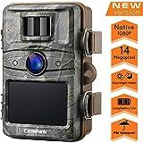 Campark Caméra de Chasse 14MP 1080P Caméra de Surveillance Étanche IP66 avec 44Pcs 940nm IR LEDs Vision Nocturne Infrarouge Jusqu'à 65 pieds/20m pour Sentier Faune Scoutisme