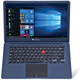 iBall M500 14-inch Laptop (Intel Celeron N3350/4GB/32GB/Windows 10/Integrated Graphics), Cobalt Blue