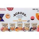 Border Biscuits 100 Luxury Mini Packs with 5 Varieties
