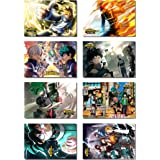 My Hero Academia Poster - Japan Anime Poster Comic Poster Cartoon Poster HD Anime Art Prints for Home Wall Decor