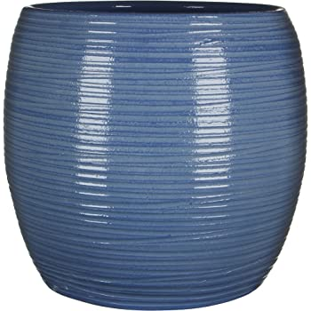 Mica Decorations 241388 Topf Loomy Blau Amazon De Garten