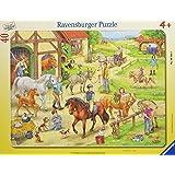 Auf dem Pferdehof - Puzzle mit 40 Teilen