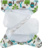 Bumberry Baby's Suede Trees Sleeper (White and Blue, 2 Years)