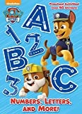 Numbers, Letters, and More! (Paw Patrol) (Full-Color Activity Book with Stickers)
