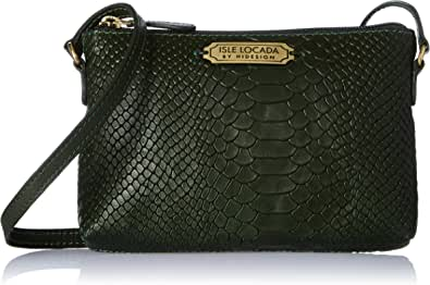 Isle Locada By Hidesign Autumn-Winter 19 Women's Clutch (Green) (N 1)