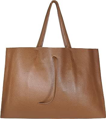SKUTARI® LEDER VITTORIA Grande | Damen Shopper | Handtasche | Schultertasche | eingenähter Innentasche | Ledertasche | Beuteltasche | Umhängetasche | MADE IN ITALY