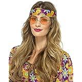 SMIFFYS Occhiali Hippie, arancioni