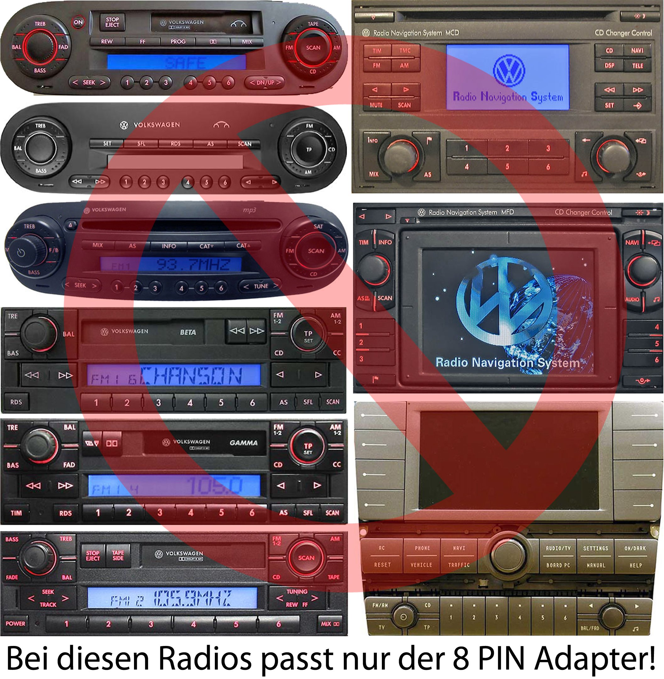 USB-SD-AUX-MP3-Adapter-fr-VW-SKODA-SEAT-12pin