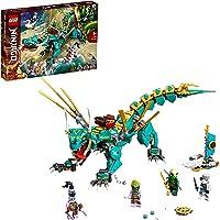 LEGO 71746 Ninjago Le Dragon de la Jungle avec Les Minifigurines Ninja Lloyd et Zane, Enfant de 8 Ans et +