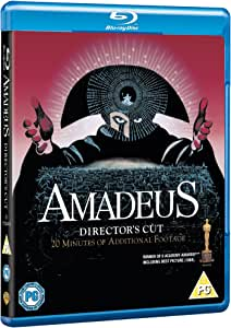 Amadeus [The Director's Cut] [Blu-ray] [1984] [Region Free]