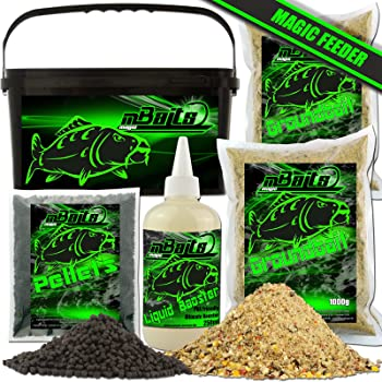 Methodfutter Ultra Karpfen Green Betain Groundbait Grundfutter 5 kg 3,95//kg