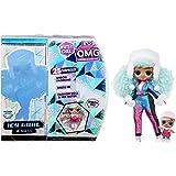 L.O.L. Surprise! O.M.G. Winter Chill ICY Gurl modna lalka & Brrr B.B. lalka z 25 niespodziankami