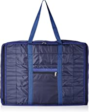 Kuber Industries Fabric 73 cms Jumbo Attachi (Blue) Travel Duffle (TRAVEL06424)