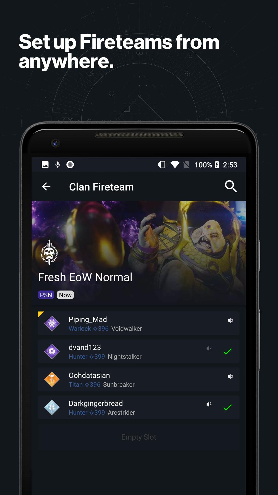 Destiny 2 Gefahrte Amazon De Apps Fur Android