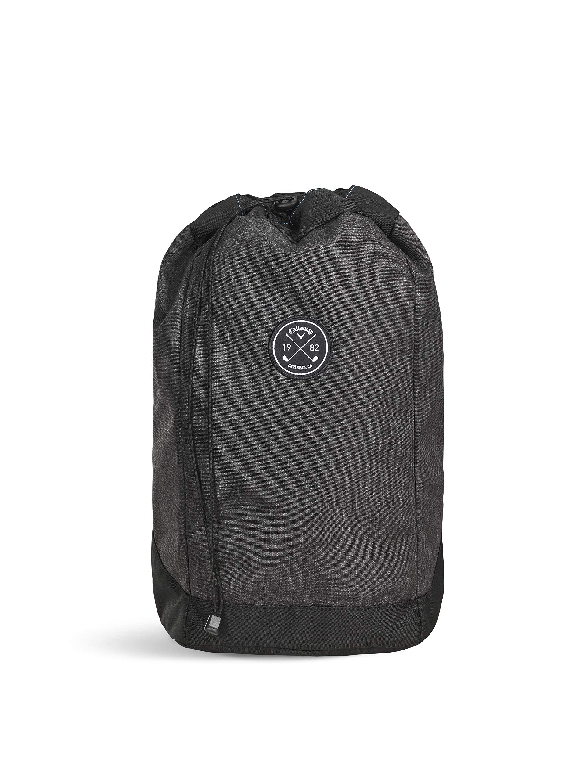 Callaway Men's Clubhouse Backpack, Black, One Size Callaway Padded Laptop Sleeve Comfort Grip Handle Interior Mesh Pocket with Key Clip 2