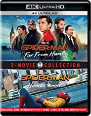 2 Movies Collection: Spider-Man: Far From Home + Spider-Man: Homecoming (4K UHD) (2-Disc)