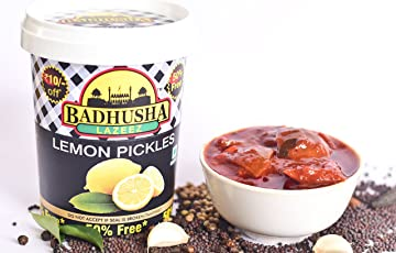 Lime Pickles 300g + 50% Extra Free* + Pickle Pouch Combi Free (Mango Pouch + Lime Pouch + Garlic Pouch + Mixed Vegetable Pouch Pickles)
