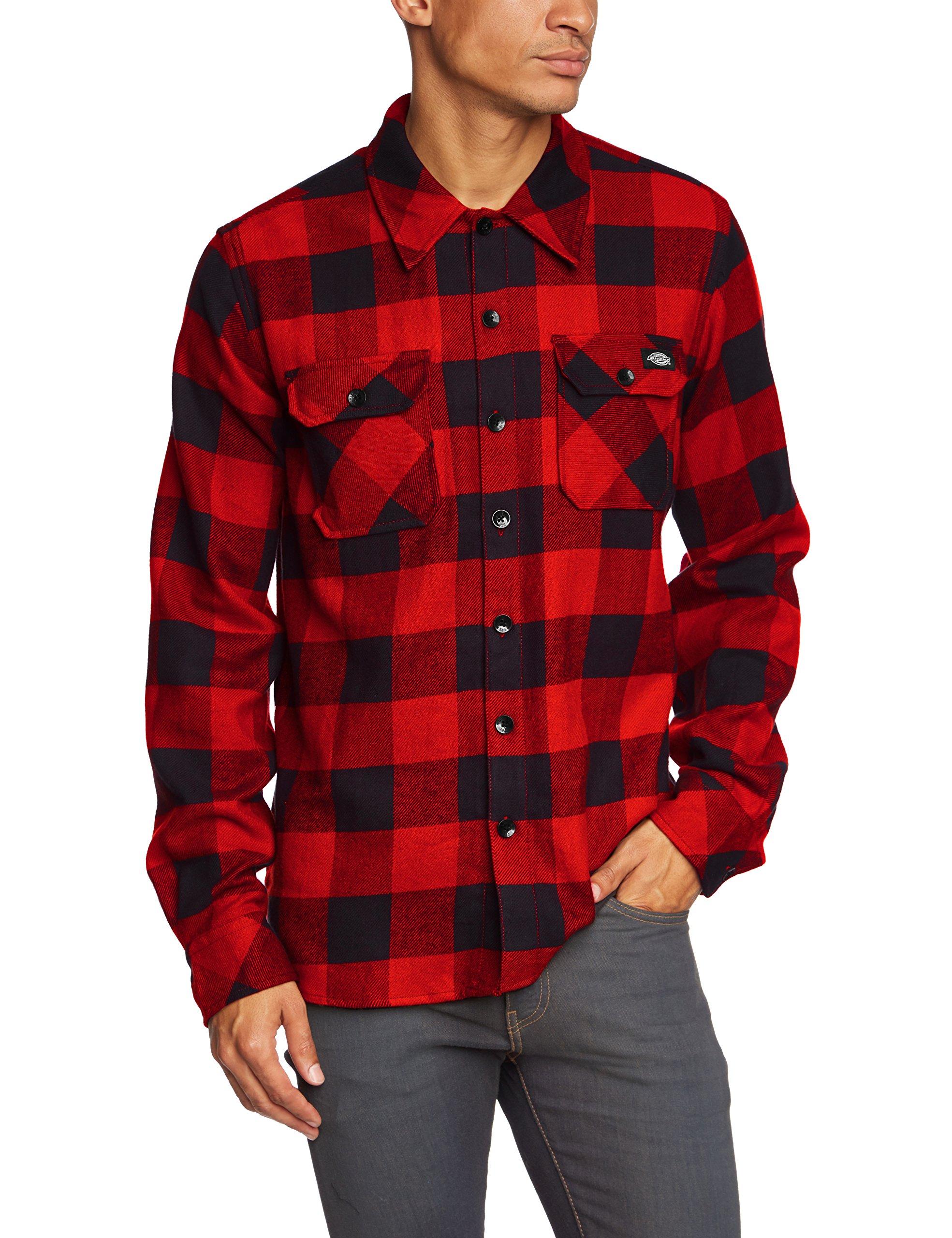 Dickies Streetwear Male Shirt Sacramento, Camisa Deportiva Para Hombre