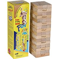 Magpie Tumbling Tower Toy Wooden Game Toy for Boys and Girls Blocks Puzzle 48 Pcs Stacking Game Maths, Building Blocks…