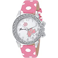 Rich Club Formal Analogue White Dial Women's & Girls Watch (White Dial Pink Colored Strap)