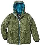 2117 of Sweden Jungen Jacke Boys Eco Street Jacket Floby, Armygreen, 140, 781393