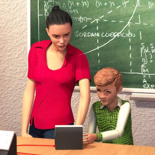 Schullehrersimulator: lustige Highschool-Spiele für Kinder