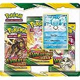Pokémon Pack 3 boosters-Epée et Bouclier-Evolution Céleste (EB07) société-Jeu de Cartes à Collectionner (Modèle aléatoire), 3