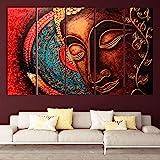 KYARA ARTS Wood Framed Painting Multicolor 50 x 30 inch