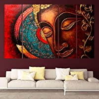 kyara arts wooden framed wall painting with frame 30 inch x 50 inch