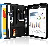 ProCase Portfolio A4 en Simili Cuir, Porte Bloc-Notes pour Record de Réunion/RDV Affaires, Housse Document avec Papiers Écrit