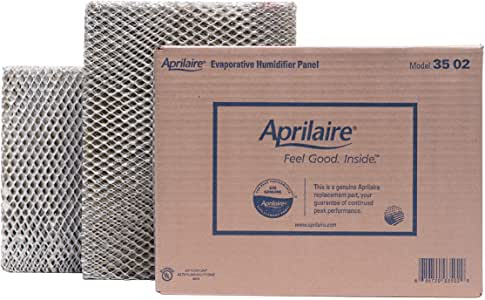 Aprilaire 35 Water Panel, Fits Humidifiers 600, 600A, 600M, 700, 700A, 700M, 760, 768, 350, 360, 560 and 568 (Pack of 2)