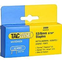 Tacwise 0335 Punti Zincati, 53/8 mm
