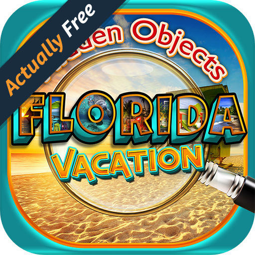 Hidden Object Florida Vacation – Picture, Puzzle Seek & Finder Differences Photo Games FREE (Castle Disney-halloween)